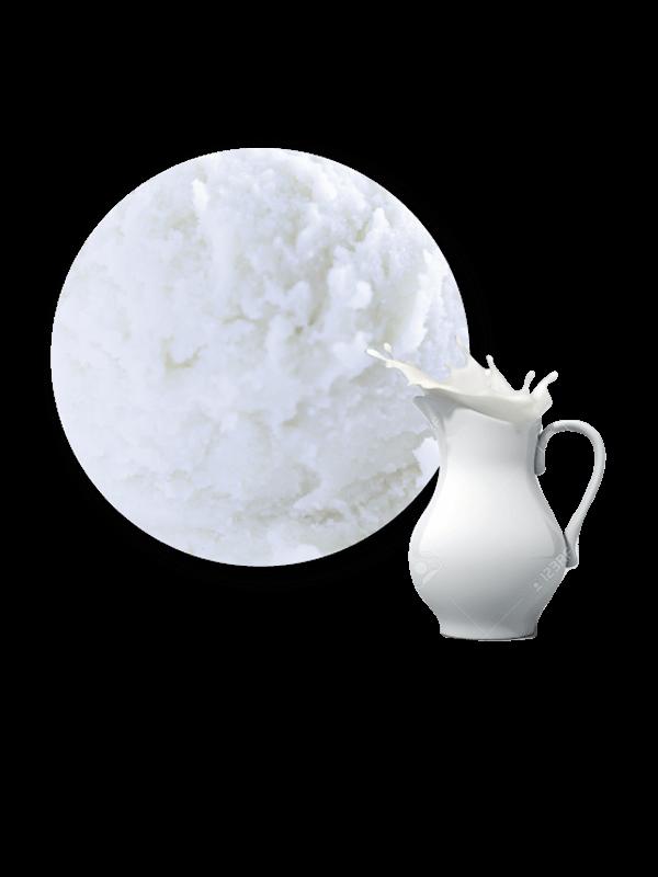 Nata Glas decorat (crema 5,5 litres)