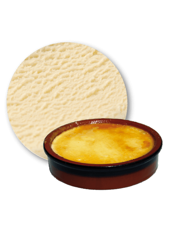 Crema catalana cream 5,5 litres decorat