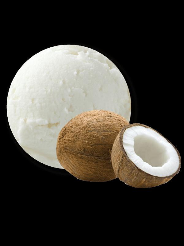 Coco amb polpa i xocolata decorat (crema 5,5 litres)