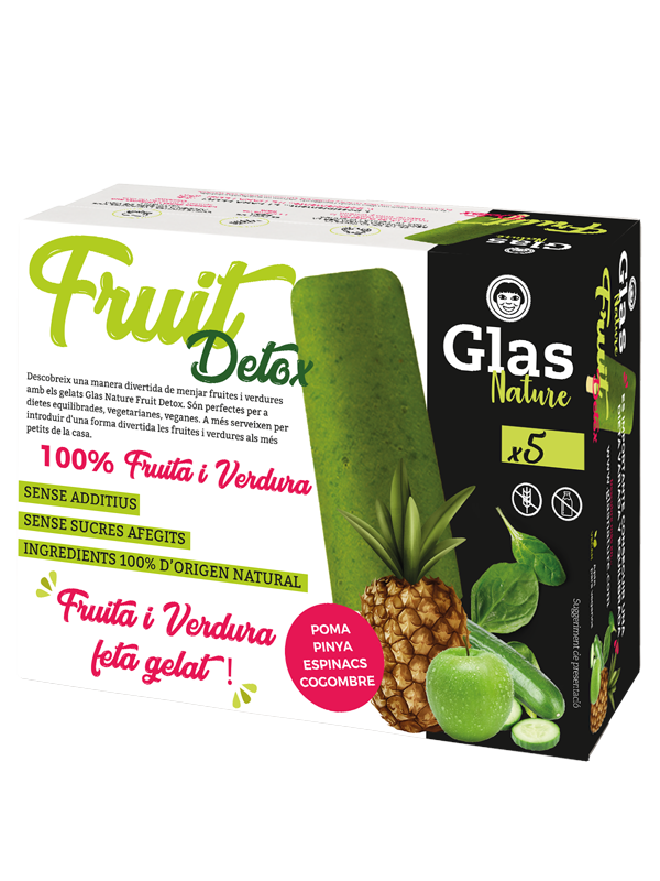 Detox 100% Fruites i verdures