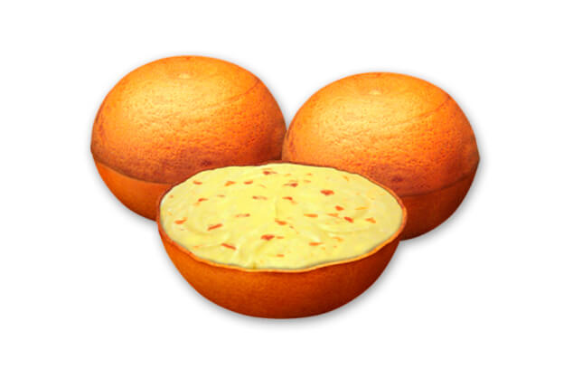invent naranja Tropical Gelats Glas