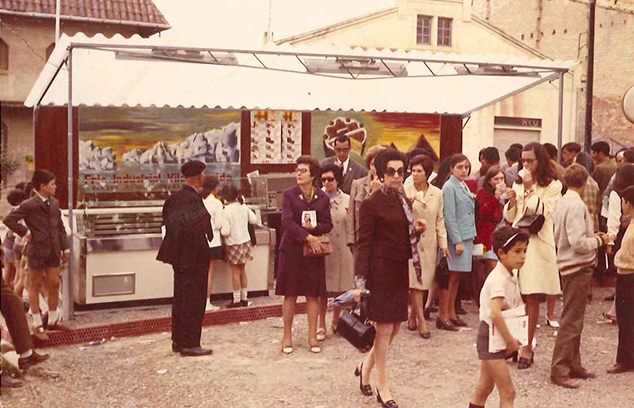 parada gelats 1970 fira Tremp